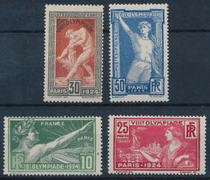 [62968] France 1924 Olympic Games Paris With Original Gum MNH