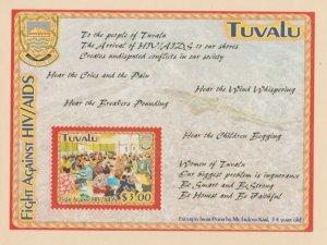 Tuvalu Scott #952 Stamps - Mint NH Souvenir Sheet