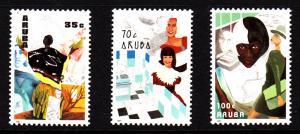 Aruba MNH Scott #67-#69 Set of 3 Working Women: Taking care of others, housew...