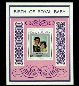 BARBUDA - 1982 - PRINCESS DIANA - ROYAL BABY - PRINCE WILLIAM- MINT MNH S/SHEET!