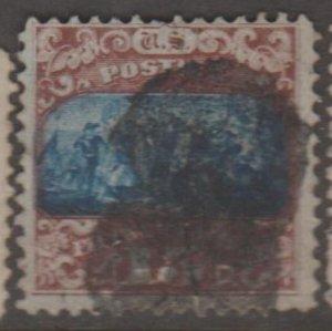 U.S. Scott #119 Columbus Landing Stamp - Used Single