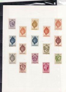 liechtenstein stamps page ref 16876