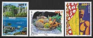 FRENCH POLYNESIA SC# 971-73 FVF/MNH  2008