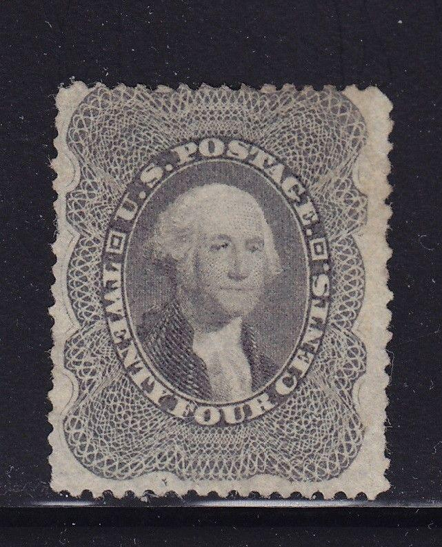 37 F-VF unused ( mint no gum ) with nice color cv $ 550 ! see pic !