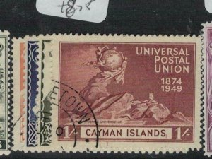 Cayman Islands SG 131-4 VFU (1edh)