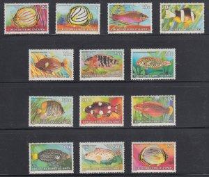 Cocos Islands    #34-50 (  less 34,36,44,49)    mnh   cat $7.85