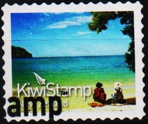 New Zealand. Date? Kiwi Stamp. Fine Used