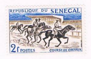 Senegal 204 MLH Horse Race 1961 (S0974)