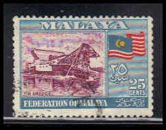 Malaya-Federation Used Fine ZA4373