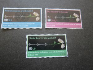 United Nations 2008 Sc 412,479,948 flower MNH