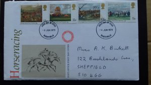 Great Britain 1979 The 200th Anniversary of the Derby FDC