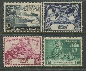 STAMP STATION PERTH Leeward Is. #126-129 UPU Issue MNH