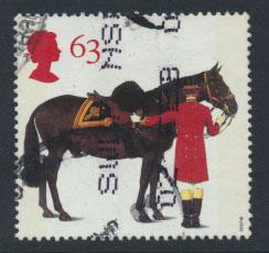 Great Britain SG 1992  Used    - Queen's Horses
