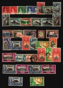 Ceylon 36 Mint & Used / Hinge Rems / Few Faults - G98