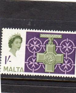 Malta Q E ll Defin MNH