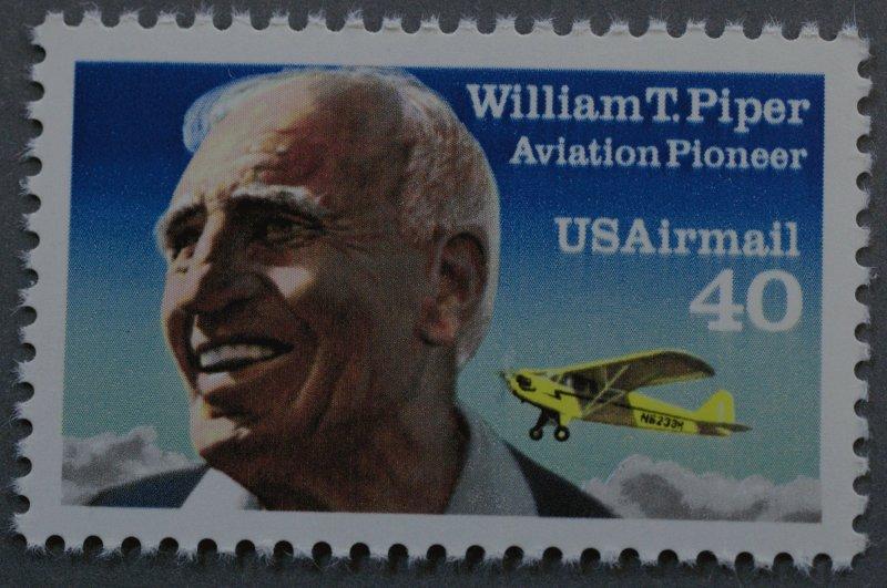United States #C132 40 Cent William T. Piper MNH
