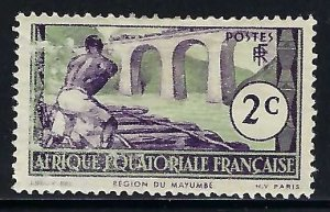 French Equatorial Africa 34 MOG V043-1