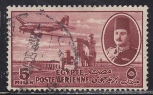 Egypt C41 DC-3 & Delta Dam 1947