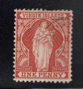Virgin Islands  Scott 22 Used Saint Ursula stamp