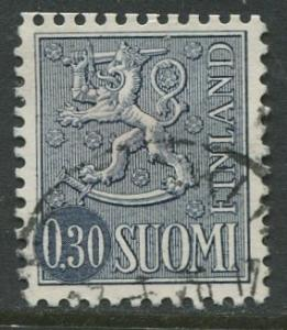 Finland - Scott 404A - Definitives -1963- Used - Single 30p Stamp