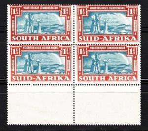 Z3920, 1938 south africa blk/4 2mh,2mnh #80, family