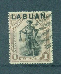 Labuan sc# 49 postally used cat value $11.50