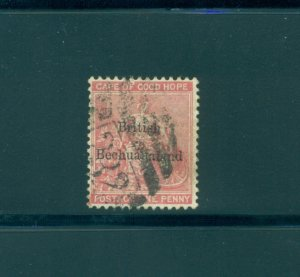 Bechuanaland - Sc# 6. 1885 1p Used. $11.00.