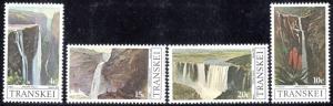Transkei - 1979 Waterfalls Set MNH** SG 58-61