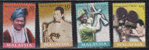 Malaysia # 702-705, 706 & 707-708, P. Ralee, Actor & Director, NH, 1/2 Cat.