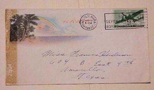 HAWAII  CENSORED COVER 1943 TO USA #2604