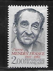 FRANCE, 1906, MINT HINGED, PIERRE MENDES FRANCE