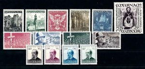 Luxembourg Luxemburg 1947 Complete Year Set MNH