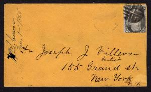 $ US Blackjack Cover Scott #73 fancy cancel