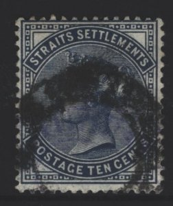 Straits Settlements Sc#51 Used
