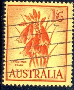Flower, Christmas Bells, Ausralia SC#326 used