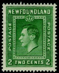 CANADA - Newfoundland SG268, 2c green, LH MINT.