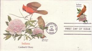 US Sc# 1953 / 2002 FDC's State Birds & Flowers Complete UXZ