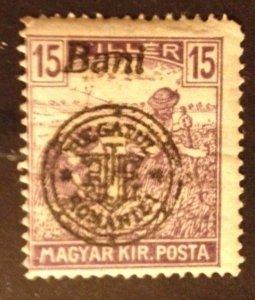 Hungary 1916,MNH 15f (Kolozsvar) Scott 5N6