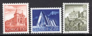 Norway 772-774 Architecture MNH VF