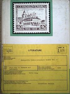 Monografie Ceskoslovenskych Znamek Vol 3 Czechoslovakia 1923-39 Specialised
