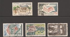 France 1068-1072 Used VF