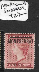MONTSERRAT  (P1010B) QV 1D  SG 8  MOG