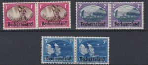 BECHUANALAND     1945   VICTORY   SET   MH