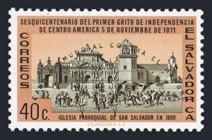 Salvador 737 bl./4,MLH/MNH.Mi 848. FAO.Freedom from Hunger campaign,1963.Church.