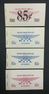 MOMEN: US #BKC5-8 BOOKLET MINT OG NH $60 #25262