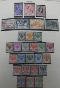 BRITISH COMMONWEALTH Mint, 25 Minkus albums, 1930s-80s, 106 countries cat $86K+