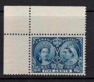 Canada #54 Extra Fine Never Hinged Gem **With Certificate**