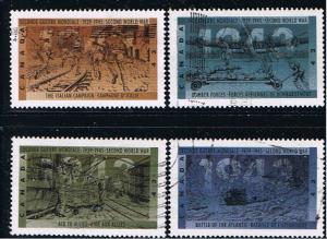 Canada #1503-6  WWII VF Used Set