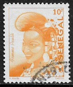 Senegal #1484 Used Stamp - Senegalese Fashion