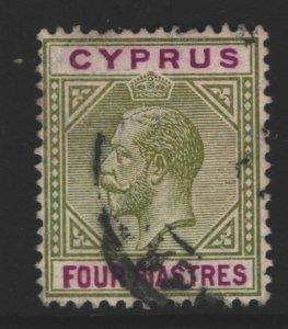 Cyprus Sc#66 Used